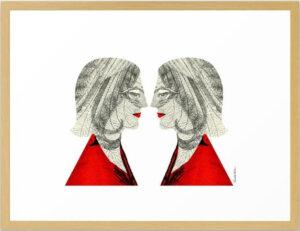Shedenhelm_Collage_Twins_20x26-Framed